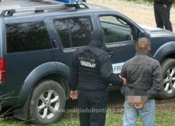 Bărbat reținut după ce a încercat să intre ilegal în țară fără să efectueze controlul de frontieră