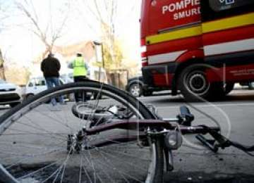 Bârsana - Biciclist lovit de o mașină