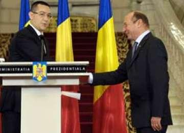 Băsescu: Încurajez Guvernul Ponta pentru că trebuie să pornească motorul care înseamnă fonduri europene