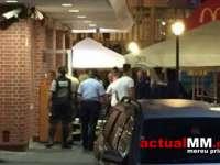 Bătaie în zona McDonald's Baia Mare - Un tânăr a fost preluat de Ambulanță