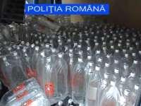 Băuturi alcoolice, produse alimentare și îmbrăcăminte confiscate de polițiștii maramureșeni