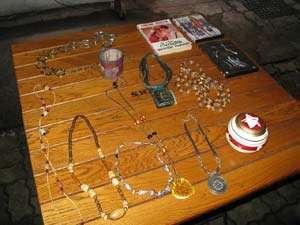 Bazar cu lucruri gratis la Sighet