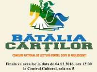 """Biblioteca municipală Sighet organizează evenimentul-concurs """"Bătălia Cărților"""""""