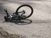 Biciclist accidentat la Borşa