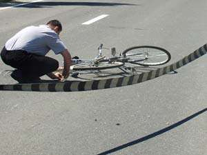 Biciclist din Sighetu Marmației, accidentat la Crăciunești