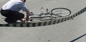 Biciclist în vârstă de 78 de ani accidentat la Baia Mare