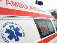Biciclist transportat la spital după ce a fost accidentat de o căruță