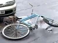Biciclistă accidentată uşor la Sighetu Marmaţiei
