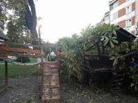 Bilanţul provizoriu al dezastrului în Maramureş ! Zece răniţi, sute de gospodării fără curent şi drumuri încă blocate, după furtună