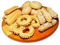 Biscuiți de casă preparați după o rețetă maramureșeană