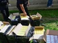 BISTRA - 4.500 pachete ţigări confiscate în urma unei percheziţii
