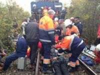 BISTRIŢA NĂSĂUD: 15 persoane rănite, dintre care 6 în stare gravă, în urma unui accident feroviar