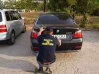 BMW furat din Ungaria, depistat de Polițiștii de frontieră
