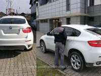BMW X6 furat din Italia, descoperit de polițiștii de frontieră