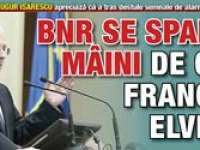 BNR arată că o conversie a creditelor în franci la alt curs decât cel oficial ar putea fi NECONSTITUŢIONALĂ