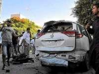 Bombă găsita sub o mașina diplomatică la  ambasada italiană din Tripoli