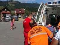 BORŞA: Fetiţă de opt ani rănită grav în zona capului în timp ce vizita Cascada Cailor