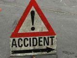 BORŞA: O femeie a intrat cu maşina într-un parapet, din cauza vitezei