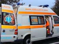 BORȘA: Bărbat transportat la spital în urma unui acccident rutier