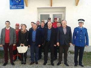 BORȘA - FOTO: Sediu nou pentru Jandarmii montani