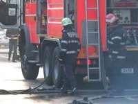BORȘA - Incendiu pe strada Floare de COLȚ