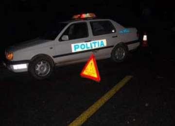 BORȘA: Un șofer beat a intrat într-o mașină parcată