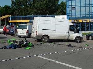 Borşa: Un tânăr de 24 de ani a murit ieri într-un accident de motocicletă