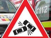 Borşean cercetat pentru infracţiuni rutiere după ce a provocat un accident şi a părăsit locul faptei