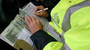 Borșean cu permis de conducere ucrainean fals, prin de polițiști la Petrova