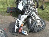 BOTIZA - Un motociclist băut și fără permis de conducere a accidentat o femeie aflată pe marginea drumului