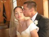 Brad Pitt și Angelina Jolie s-au căsătorit în Franţa