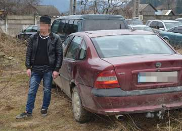 BRODINA - Bărbat cercetat pentru contrabandă și conducerea unui vehicul fără permis