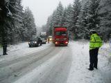 BULETIN RUTIER - Cum se circulă pe drumurile din Maramureș astăzi, 16 ianuarie