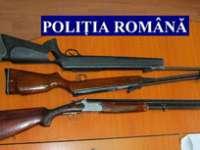 CĂLINEȘTI: Arme de vânătoare şi muniţie, deţinute ilegal de către un italian,  ridicate de poliţişti