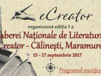 Călinești - Tabăra Națională de Literatură eCreator, ediția I