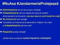 """Campania naţională a Jandarmeriei: """"Spaţiul public este al tuturor!"""""""