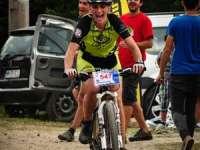 Campionul național Robert Dobai,  la startul MTB Maraton Baia Mare 2014