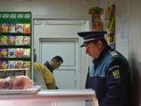 Carne și produse lactate confiscate de polițiștii maramureșeni