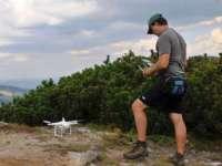 Cartarea habitatelor din Parcul Național Munții Rodnei va fi realizată cu ajutorul dronelor