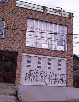 Casa fostului primar din Borşa, Toader Mihali, a fost vandalizată