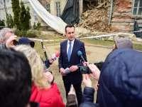 Cătălin Cherecheş, Primarul Băii Mari, depune plângere penală pe numele administratorului clădirii Tricomar, prăbușită ieri