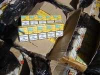 Cazuri multiple de contrabandă cu țigări în Maramureș