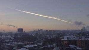 Celiabinsk: Meteoritul care a căzut pe Pământ intrase în contact cu alt corp ceresc