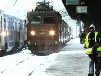 CFR: 13 trenuri, anulate din cauza temperaturilor extrem de scăzute