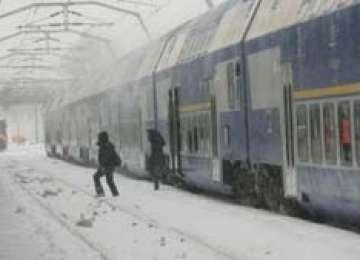 CFR: Peste 70 de trenuri de călători sunt anulate