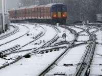 CFR: Trenurile consemnează întârzieri între 30 și 60 de minute din cauza temperaturilor scăzute