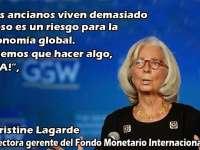"""Christine Lagarde: """"Bătrânii trăiesc prea mult și este un risc pentru economia globală, trebuie făcut ceva"""""""