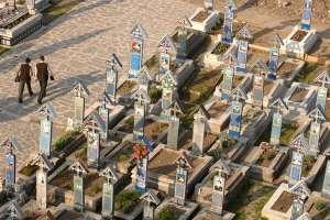 Cimitirul Vesel de la Săpânța, locul unde arta populară maramureșeană glumește pe seama morții