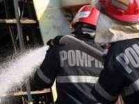 Cinci incendii stinse de pompierii maramureșeni în weekend