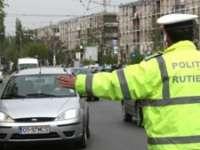Cinci infracţiuni constatate de poliţiştii rutieri, inclusiv la Ferești, Giulești și Săpânța
